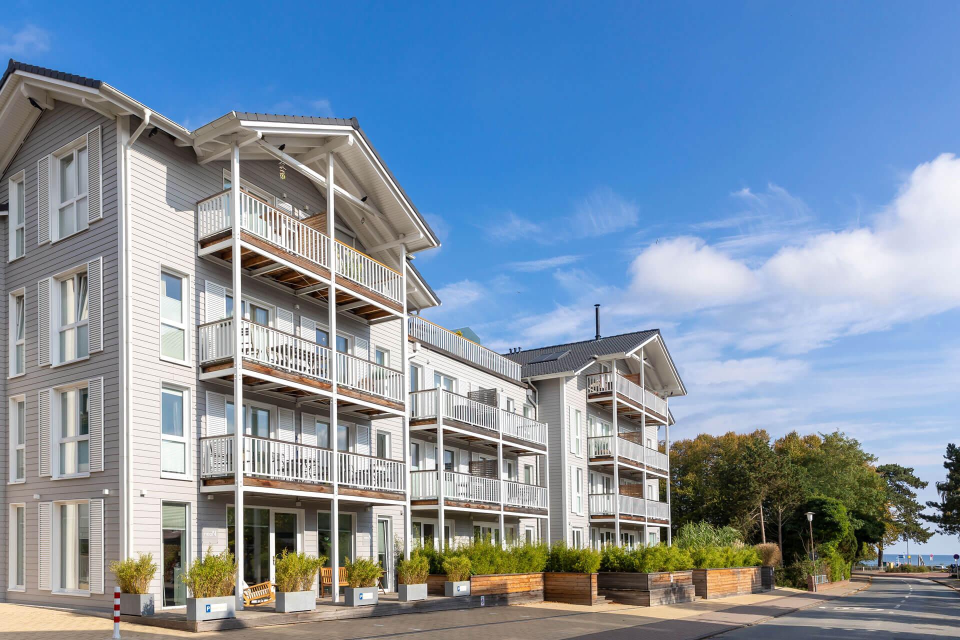 Hotel-Meerzeit-Apartment_Aussenansicht