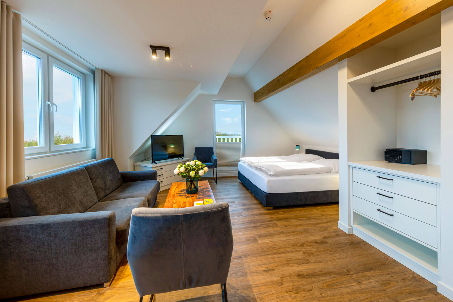 Hotel-Meerzeit-Doppelzimmer Deluxe