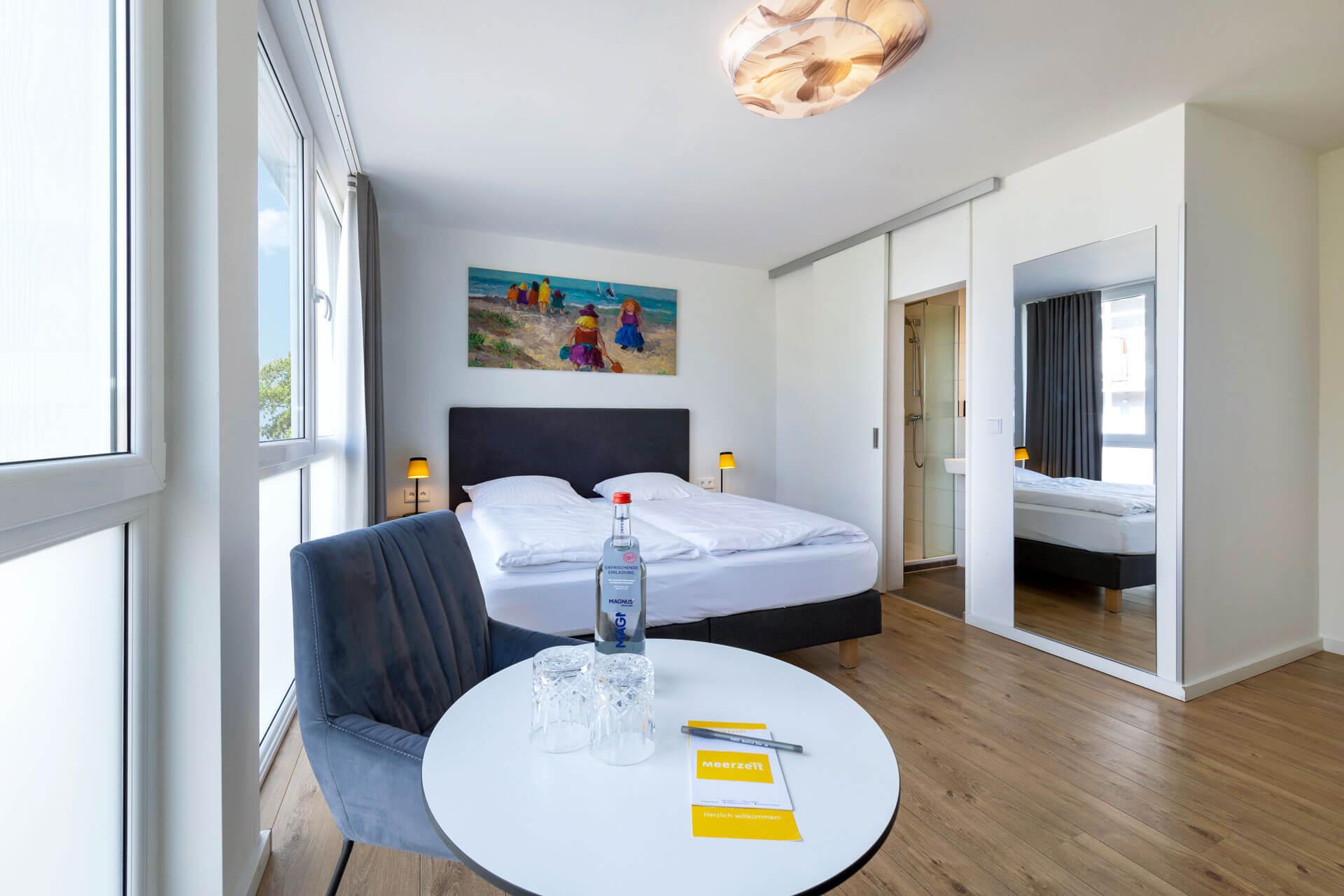 Hotel-Meerzeit-Doppelzimmer Standard